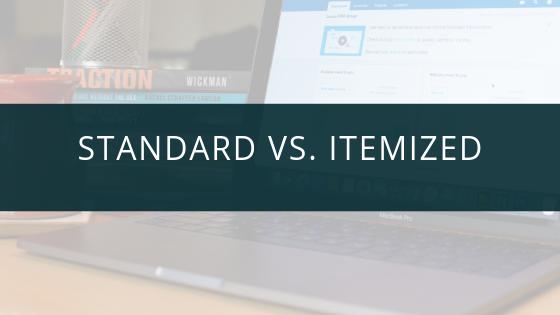 Standard Deductions vs. Itemizing: New 2018 Tax Laws