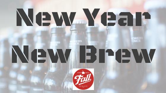 New Year, New Brew: Fall Brewing Company, San Diego