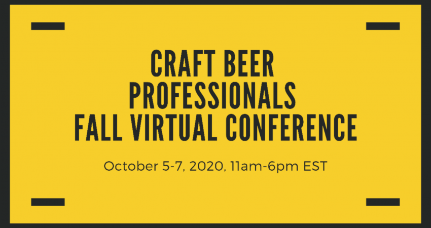 Craft Beer Professionals Fall Conference